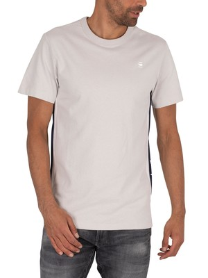 G-Star Side Stripe T-Shirt - Cool Grey