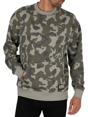 G-Star Brush Camo Sweatshirt - Orphus Birch