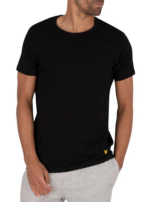 Lyle & Scott 3 Pack Maxwell Crew T-Shirts - Black