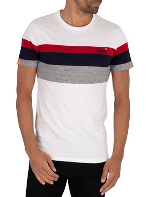 Superdry Classic Stripe T-Shirt - Optic