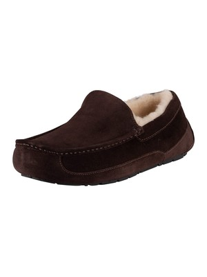 UGG Ascot Suede Slippers - Espresso