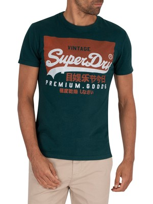 Superdry VL Graphic T-Shirt - Pine Green