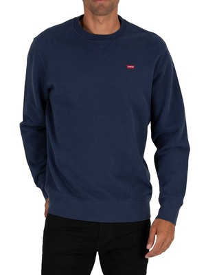 Levi's Original Crew Sweatshirt - Dress Blue