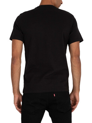 Levi's Original V-Neck T-Shirt - Mineral Black