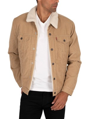 Levi's Type 3 Sherpa Trucker Jacket - Chino Cord
