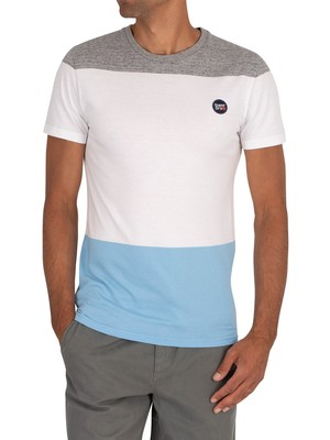 Superdry Collective Colour Block T-Shirt - Optic