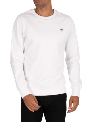 Superdry Collective Crew Sweatshirt - Optic