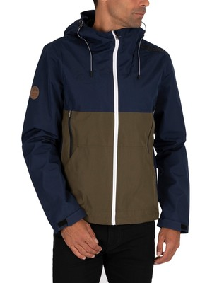Superdry Tech Colourblock Elite Jacket - Nautical Navy