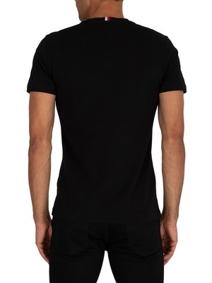 Tommy Hilfiger Cool Large Signature T-Shirt - Black