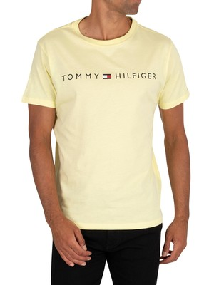 Tommy Hilfiger Lounge Graphic T-Shirt - Elfin Yellow