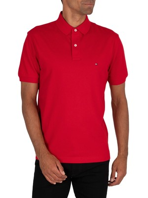 Tommy Hilfiger Regular Polo Shirt - Primary Red