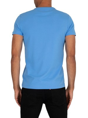 Tommy Hilfiger Stretch Slim Fit T-Shirt - Copenhagen Blue