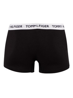 Tommy Hilfiger Flag Waistband Trunks - Black