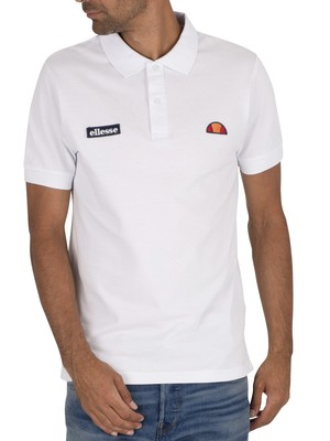 Ellesse Montura Polo Shirt - White