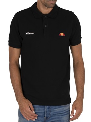 Ellesse Montura Polo Shirt - Anthracite