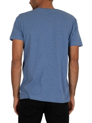 Gant Original T-Shirt - Denim Blue Mel