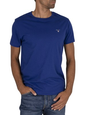 GANT Original T-Shirt - Crisp Blue