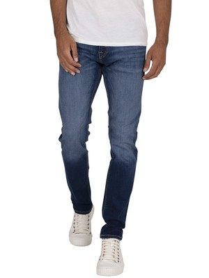 Jack & Jones Glenn Felix 889  Slim Jeans - Blue Denim