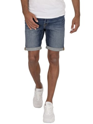 Jack & Jones Rick Original Shorts - Blue Denim