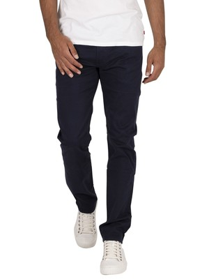 Levi's 511 Slim Chinos - Baltic Navy Suede Sateen