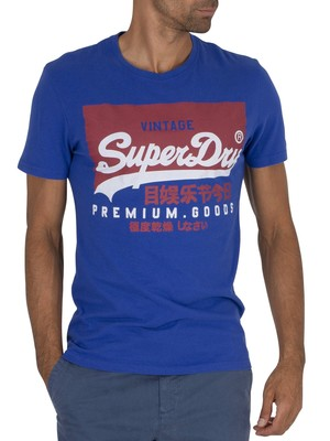 Superdry Graphic T-Shirt - Mazarine Blue