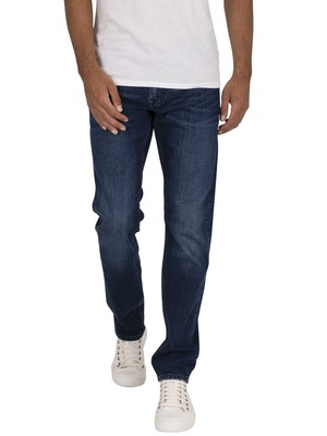 Tommy Hilfiger Straight Denton Jeans - Bridger Indigo