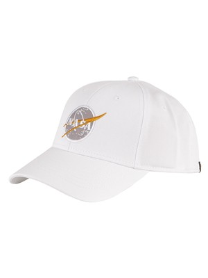 Alpha Industries NASA Cap - White/Gold