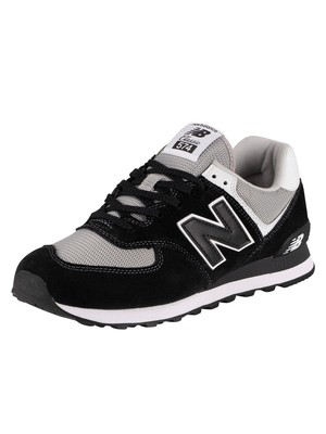 New Balance ML574 Trainers - Black