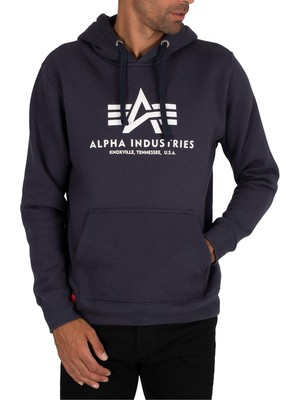Alpha Industries Basic Hoodie - Navy