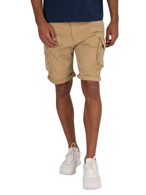 Alpha Industries Crew Short Cargos - Sand