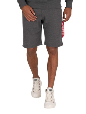 Alpha Industries X-Fit Cargo Shorts - Charcoal Heather