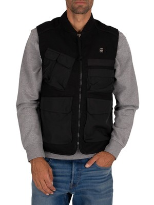 G-Star Utility Vest - Dark Black