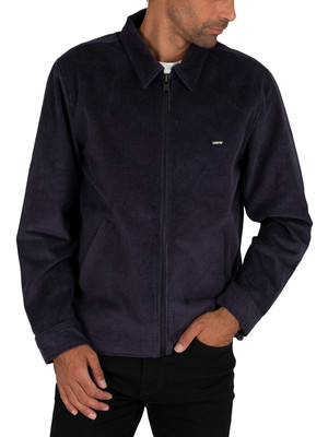 Levi's Haight Cord Harrington Jacket - Nightwatch Blue