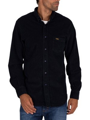 Lois Jeans Thomas Thincord Shirt - Navy Blue