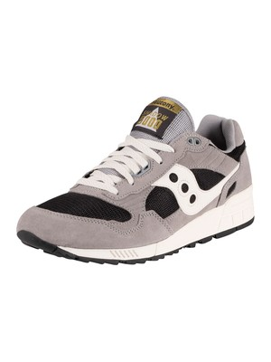 Saucony Shadow 5000 Suede Trainers - Grey