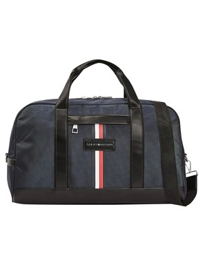 Tommy Hilfiger Uptown Nylon Duffle Bag - Sky Captain