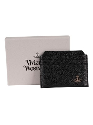 Vivienne Westwood Milano Slim Card Holder - Black