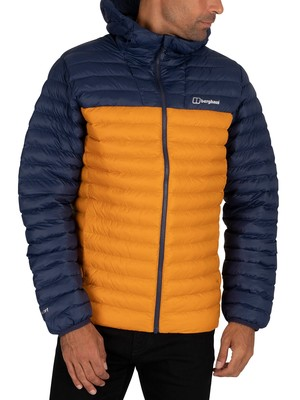 Berghaus Vaskye Puffer Jacket - Dark Yellow/Dark Blue