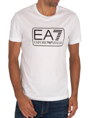 EA7 Graphic T-Shirt - White