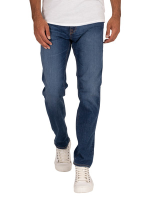 Jack & Jones Clark Original 350 Jeans - Blue Denim