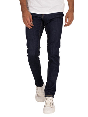 Jack & Jones Glenn Original 168 Jeans - Blue Denim