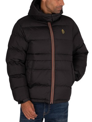 Luke 1977 Mallard Puffer Jacket - All Black