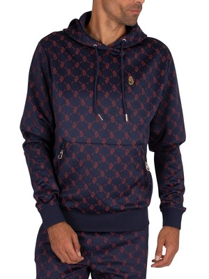 Luke 1977 Tricycle Kick Pullover Hoodie - Very Dark Navy