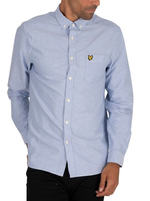 Lyle & Scott Oxford Chest Pocket Shirt - Riviera