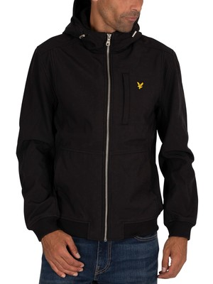 Lyle & Scott Softshell Jacket - Jet Black