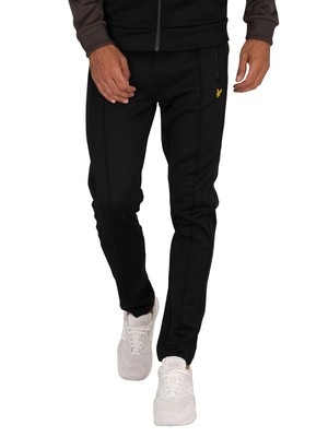 Lyle & Scott Tricot Side Stripe Joggers - Jet Black