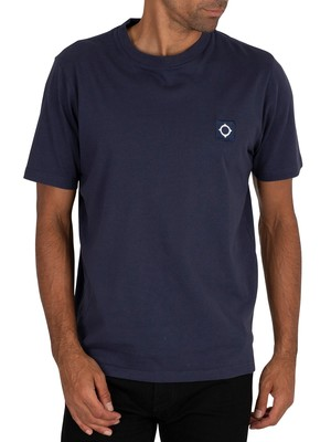 MA.STRUM Icon T-Shirt - True Navy