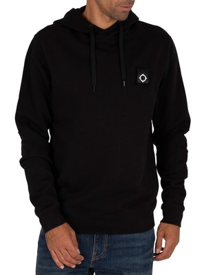 MA.STRUM Training Pullover Hoodie - Jet Black