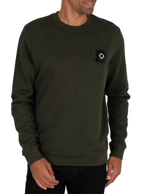 MA.STRUM Training Sweatshirt - Oil Slick