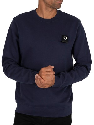 MA.STRUM Training Sweatshirt - True Navy